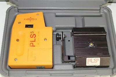 Pacific Laser Systems PLS-5 Laser Level with Case & Mount Bracket.