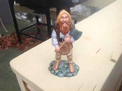 1980 Royal Doulton Lord of the Rings Middle Earth HN 2922 GIMLI Figurine EXC.