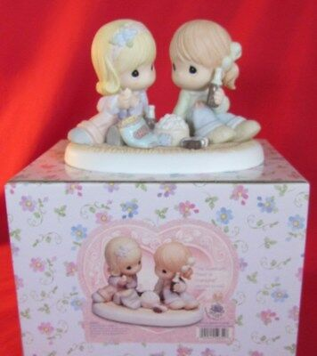 """Precious Moments """"The Sweetest Treat Is Friendship"""" 2003 Club Exclusive #110855"""