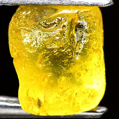 TOP IF FLAWLESS 2.10ct NATURAL100% UNHEATED CHRYSOBERYL ROUGH FACET NR!