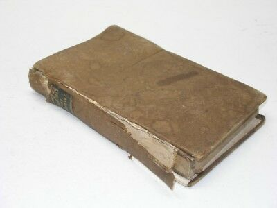 Antique 1837 Pre Civil War Moubray On Breeding Rearing Fattening Poultry Cows