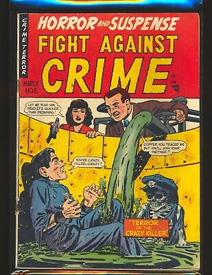 Fight Against Crime # 6 - Used in POP VG Cond.