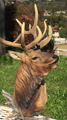 Mill Creek Studios Elk Figurine Collectible, Greg Petzer, High Point  #52220