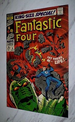 Fantastic Four Annual #6 NM 9.4 Unrestored 1968 1st Annihilus, Franklin Richards