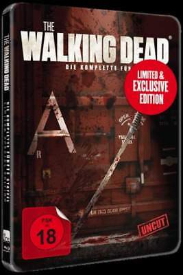 """THE WALKING DEAD - Staffel 5"" - Limited Weapon BLU RAY STEELBOOK - Rar/OOP"