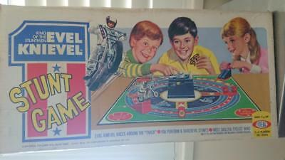 Evel Knievel Stunt Game - Ideal 1974   incomplete - parts only