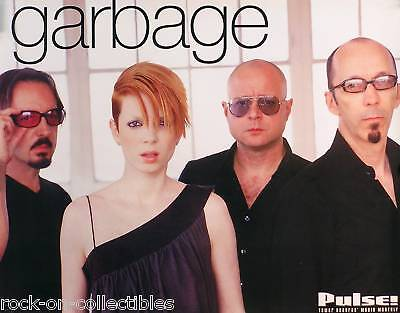 Garbage 2001 Pulse Magazine Tower Records Promo Poster