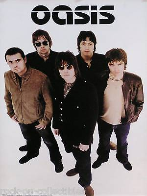 Oasis 2000 On The Shoulder Of Giants 2-Sided Poster