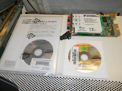 National Instruments PXI-4071 7½-Digit Flex DMM, ±1,000 V, With Media