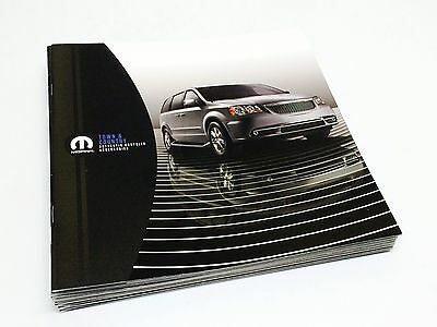 2017 Mopar Chrysler Town Country Accessories Brochure