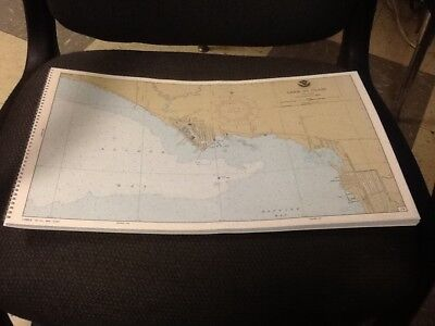 VTG. Book of maps of Lake St. Clair from NOAA 14853 9th edition Mar. 1985