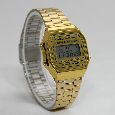 Casio Uhr Retro Gold