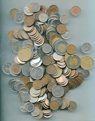 Canadian current face value of $32.50 in coins    lotmar2800