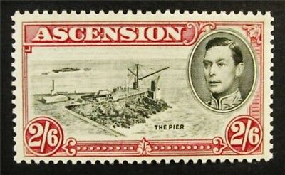 nystamps British Ascension Stamp # 47 Mint OG NH $38