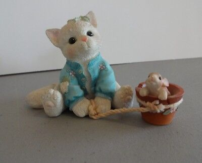 "Calico Kittens ""Some Bunny To Love You"" Enesco 295590 1997"