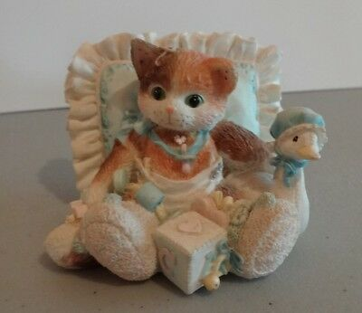 "Calico Kittens ""Hello, Little One"" Enesco 129410 1995"