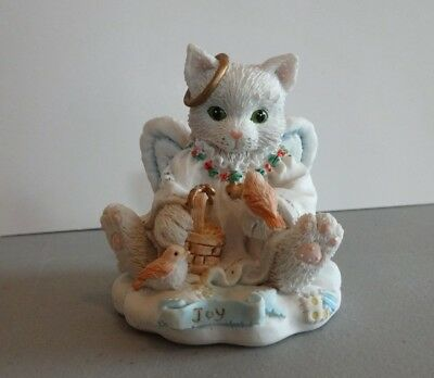 "Calico Kittens ""Joy To The World"" Enesco #625264 1994"