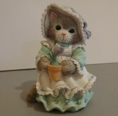 "Calico Kittens ""Love Blooms Fur-ever"" Enesco 102644 1994"