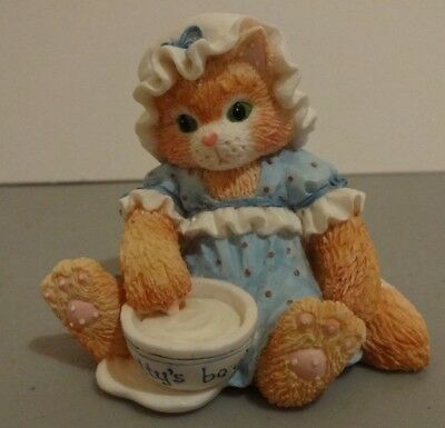 "Calico Kittens ""An Unexpected Treat"" Enesco 112321 1994"