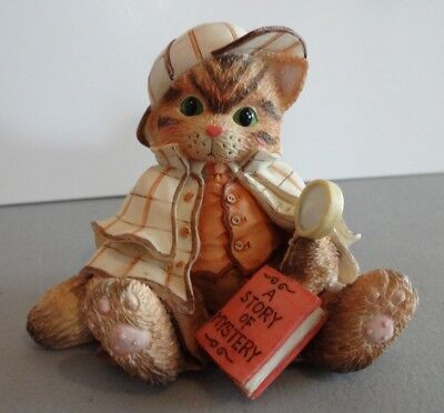 "Calico Kittens ""It's No Mystery We're Friends"" Enesco 129585 1994"