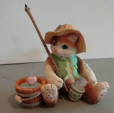 "Calico Kittens ""I'm Hooked On You"" Enesco 129313 1995"