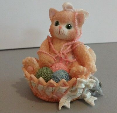 "Calico Kittens ""A Little Litter Of Blessings"" Enesco 168602 1995"