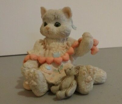 "Calico Kittens ""A Good Friend Warms The Heart"" Enesco 627984 1992"