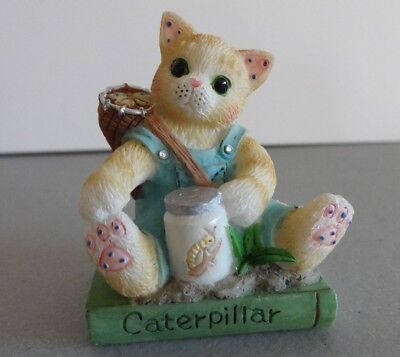 "Calico Kittens Mini ""Caterpillar"" Enesco 488798 1998"