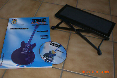 Fußbank verstellb. Neuw. *  Buch + CD: Blues you can use * TOP * Package