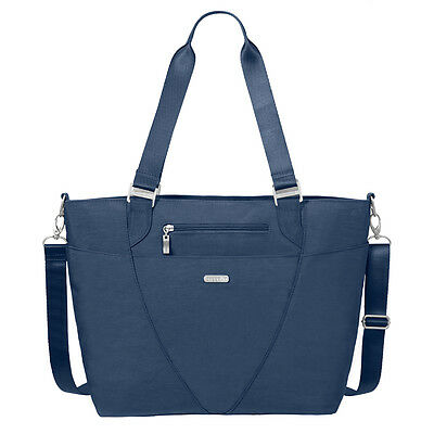 Baggallini Avenue Laptop Tote Travel Handbag Pacific