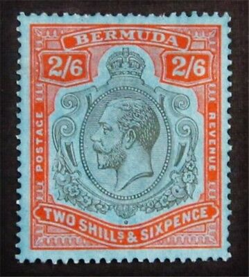 nystamps British Bermuda Stamp # 95 Mint OG H $75