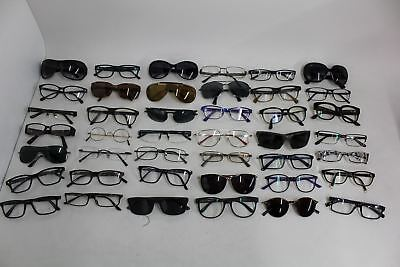 JOB LOT 42x Mixed Mens Ladies Sunglasses Eye Glasses Frames Brands Bundle