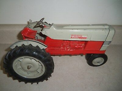 FORD 6000 TRACTOR RED & GREY HUBLEY Vintage Farm Toy