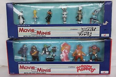 Movie Minis Looney Tunes & Muppets, Imaginations Vintage Diecast figures, 1988