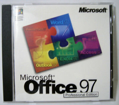 Microsoft R Office 97 Professional Edition For Windows With CD Key
