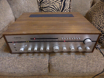Vintage Wintec R1060 AM FM Stereo Receiver VHF UHF TV Band  Very Heavy