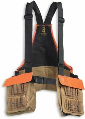 f698fedf8994c Browning Pheasants Forever Strap Vest Field Tan logo embroidery 30511732