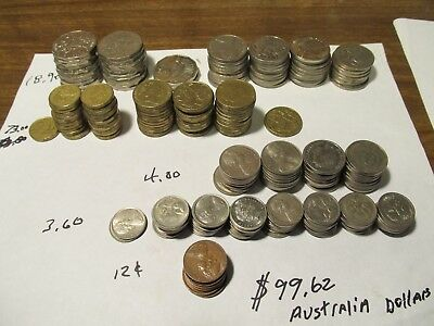 $99.62 Australian face Foreign Exchange Travel Money Currency Australia Coin