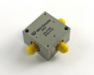 NEW Mini-Circuits Power Splitter / Combiner  ZFSC-2-1W - 2-Way, 1-750MHz, 50 Ohm