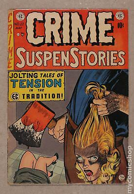 Crime Suspenstories (E.C. Comics) #22 1954 GD- 1.8