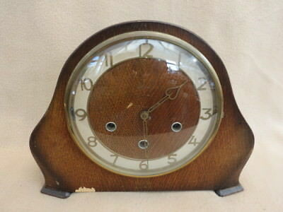Vintage Smiths Kennedy Westminster Chime Mantel Clock For Tlc