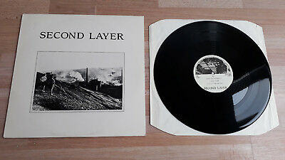 """Second Layer """"Second Layer"""" (Courts or wars), Vinyl EP, 1987 PIAS LD8711"""