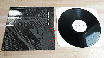 """Skinny Puppy """"Remission"""", Vinyl EP, 1984 Scarface 12 NTWK 12 M Face 10"""