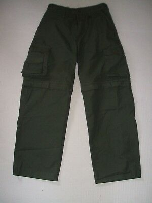 Boy Scout BSA Uniform Convertible Pants Shorts Youth 14 Cotton Blend Troop Camp