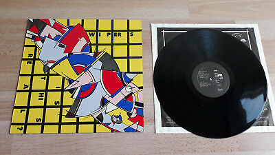 """Wipers """"Is this real?"""", Vinyl LP, 1979 Weird System WS024"""