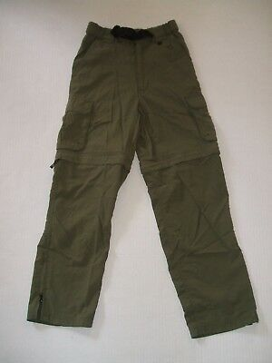 Boy Scout BSA Switchback Uniform Pants Shorts Convertible Zip Off Youth Small