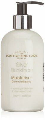 Scottish Fine Soaps Men's Grooming SILVER BUCKTHORN Moisturiser 300ml