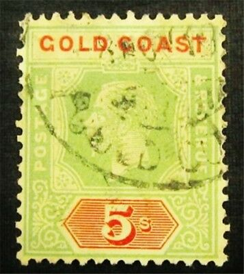 nystamps British Gold Coast Stamp # 46 Rare Used $110