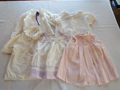 Lot 5 Vtg Clothes Early 1980s Girls Dresses & Tops ! POLLY FLINDERS L. ASHLEY++