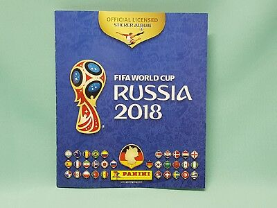 Panini WM 2018 Russia World Cup Sticker Sammelalbum Album Leeralbum Neu